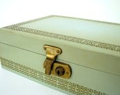 Vintage Green Jewelry Box