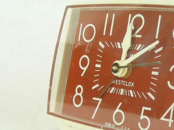 Westclox Electric Bedside Vintage Alarm Clock