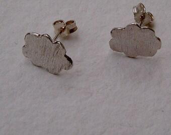Pendientes nubes/ Clouds earrings
