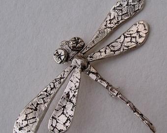 Big dragonfly brooch/ Broche libélula grande