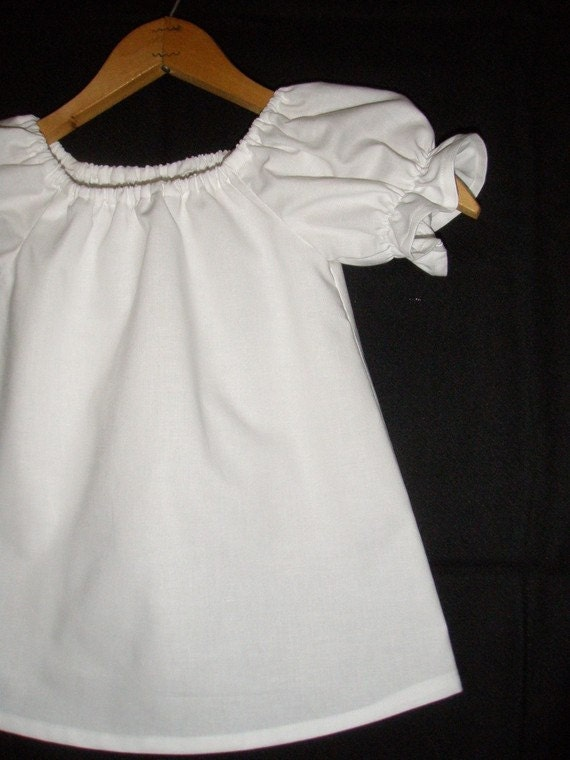 simple CHILDS peasant tunic top  (available in sizes 5 or 6)
