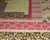 Spring Fling Handmade Quilt       CLEARANCE SALE