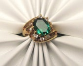 Vintage Ring Rich Green R3665