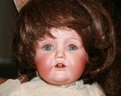 "Antique 13"" Bisque Made in Nippon Doll"