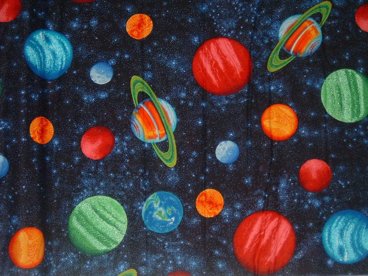Paper lined solar system border page 3 pics about space for Space themed fleece fabric