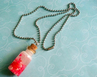 Jar of Hearts Vial Necklace