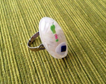 Sushi Lovers Resin Ring