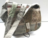 india army messenger bag - FREE scarf