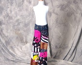I LOVE ROCK and  ROLL Punk New Wave Custom DIY Girls or Boys Jeans Sz  0 to 10