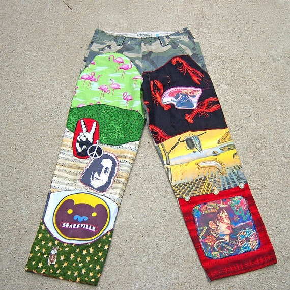 I'm Your Biggest FAN  Totally Custom DIY Rock and Roll Pants or Jacket Men's or Ladies