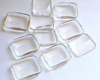 Magnifiying Domes Cabochons Rectangle
