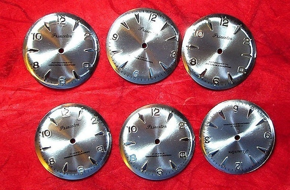 Watch Face Lot 6 Pieces