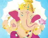 Special -  Lord Ganesha 11 x 17 Print
