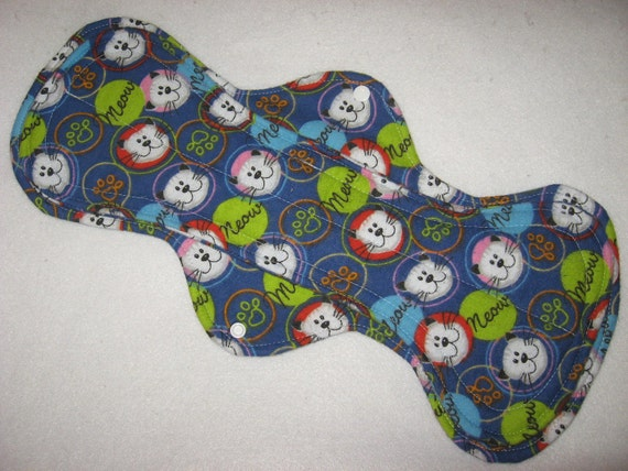Plus size Menstrual pad 15 inches long