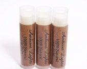 Unflavored Natural Lip Balm Set of 3 (FLAT RATE SHIPPING in the USA)