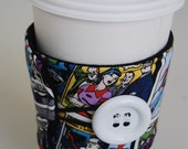 INSULATED Coffee Cup Cozy - Superman Comic