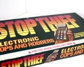 Vintage Stop Thief Electronic Cops & Robbers Board Game - By Parker Brothers 1979