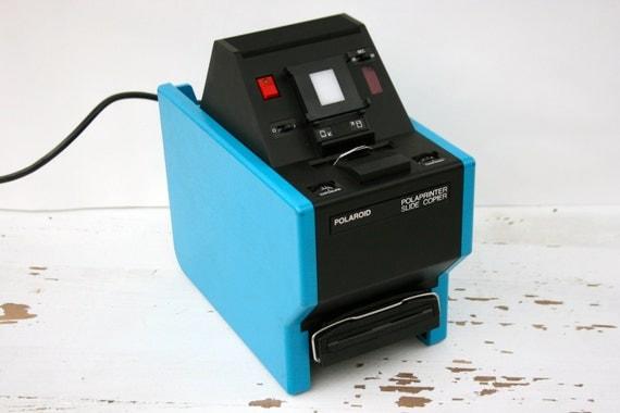 Vintage Polaroid PolaPrinter Slide Copier - Rare Find