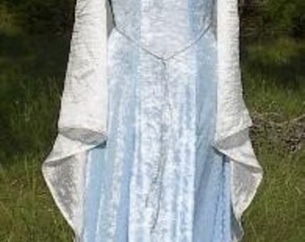 MADE TO ORDER Velvet Medieval Fantasy Gown, Choice of Colors
