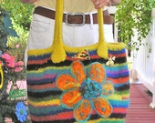 BARBARAS BEEHIVE - A Large Beehive-Shaped Felted Bag