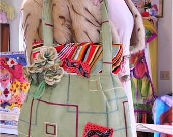 The Margarita, a Festive Shoulder Bag Made From Scrumptious Fabrics