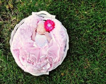 FREE SHIPPING - Sweet Infant Tutu - Pink