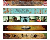 Custom shop or blog banner - give your shop or blog a little polish and savoir-faire