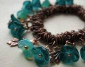 Sea Green - Bungee Charm Bracelet