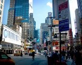 NYC Photographic Print 8x10 Broadway facing Times Square