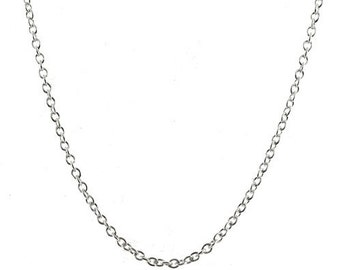 5 X Sterling Silver 2mm Rolo Chains 26 inch Wholesale