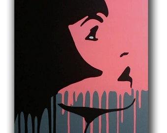 Original Handpainted Pop Art Painting