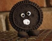 Cookie Thug---Polymer Clay Figurine