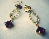 Oui Madame... ((swarovski crystal drops - earrings))