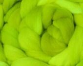 Lightning Bug - 4 oz Hand Dyed Merino Wool