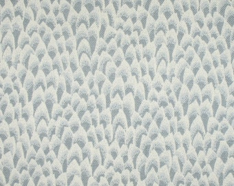 Greenish Gray Little Peaks  (1 1/2 Yds)  Home Decorating Fabric, Cotton Home Decor Fabric,