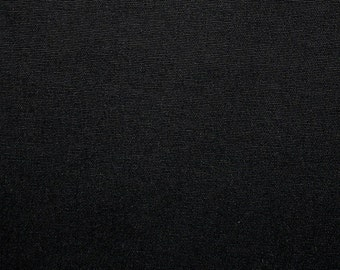 Black Cotton Duck  (1 1/2 Yd)  Black Home Decorating Fabric, Black Fabric, Black Heavy Duty Fabric