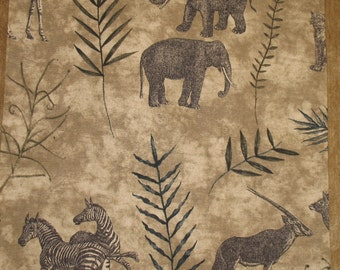 "African Safari Pillow Cover  19"" x 19"""
