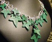 Elven Mystical Ivy Chainmaille Necklace
