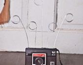 Upcycled Kodak Instamatic Camera Wire Photo Holder