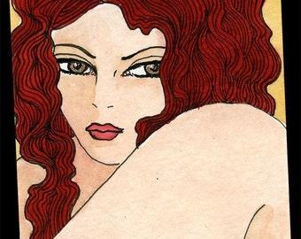 Red Hair bbw fat girl Irena
