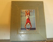 SHABBY ARCHITECTURAL Chic Salvaged Recycled Wood Photo Picture Frame 5x7 S-320