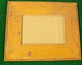 ARCHITECTURAL SALVAGED Reclaimed Wood PHOTO Picture Frame VINTAGE S25054