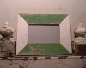 RECLAIMED WOOD Picture Frame 4x6 Shabby Recycled CHIC s2001