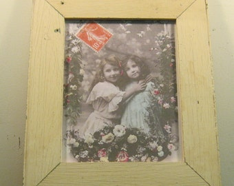 Print Salvaged Wood  Frame RecycledRelics S152 8x10