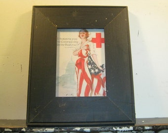 Reclaimed Wood Salvaged Picture Frame 5x7 NY- Salvage S-183