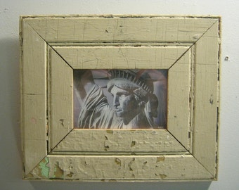 Shabby Architectural Salvaged Reclaimed Wood photo Picture Frame 4 X 6  S 273-12