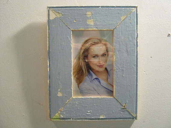 Reclaimed Wood Salvaged Picture Frame 4x6 NY- Salvage S-307-12