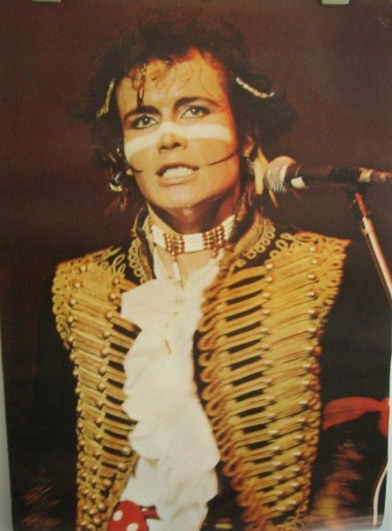 Mouth Watering Adam & the Ants 'Kings of the Wild Frontier' Poster