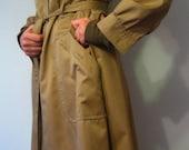 Vintage Beige Trench Coat