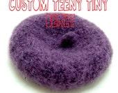 Teeny Tiny Beret - Red CUSTOM RESERVED